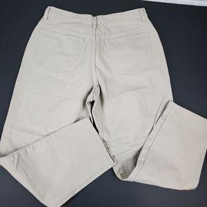 Eddie Bauer Petite Tan Jeans